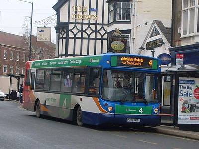 Stagecoach 31321 (P321JND), Rugby, 29th December 2009