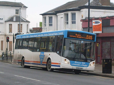 de Courcey 556 (AE06OPH), Rugby, 29th December 2009