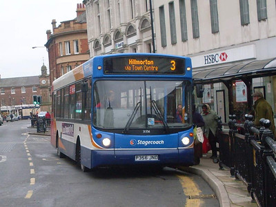 Stagecoach 31356 (P356JND), Rugby, 29th December 2009