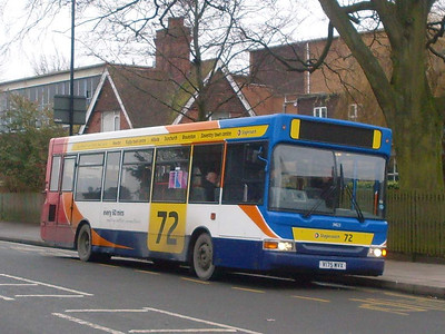 Stagecoach 34123 (V175MVX), Rugby, 29th December 2009