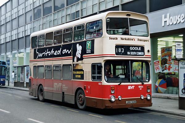 1801 JKW301W, Doncaster 19/2/1992