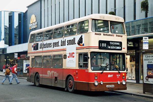 1814 JKW314W, Doncaster 19/2/1992