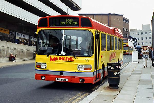 830 JHL858L, Sheffield 26/7/1994