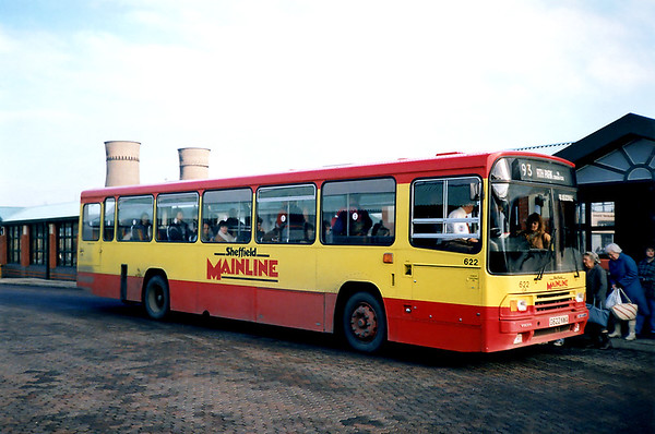 622 G622NWA, Meadowhall 17/2/1991