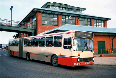 2001 C101HDT, Meadowhall 17/2/1991