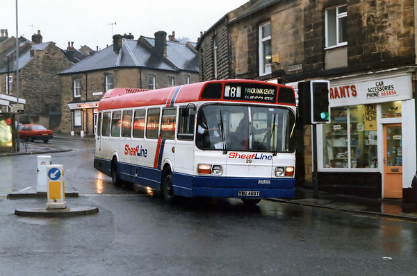 20 YWG468T, Broomhill 14/2/1992