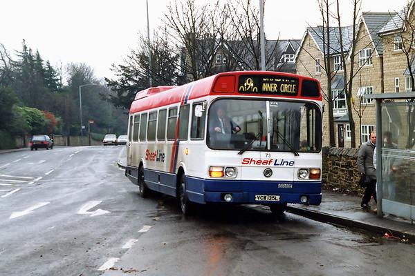 73 VCW135L, Broomhill 14/2/1992