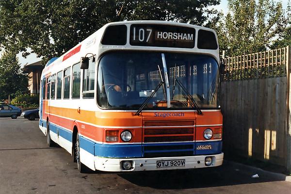 120 GYJ920V, Horsham 18/9/1993