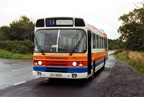 122 GYJ922V, Pulborough 13/9/1993