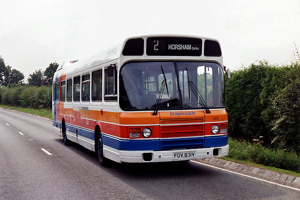 128 FDV831V, Dial Post 18/8/1993