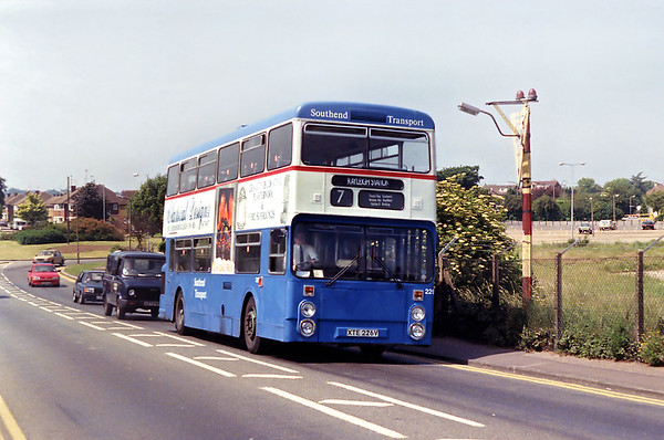 226 XTE226V, Southend Airport 13/6/1992