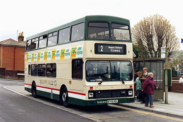 749 M749HDL, Shanklin 5/4/1995