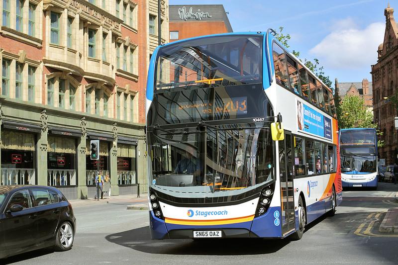 10467 SN65OAZ, Manchester 31/5/2016