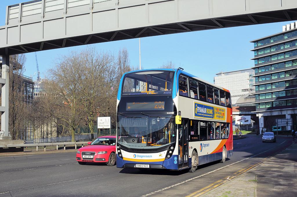 10466 SN65NZZ, Manchester 7/2/2018
