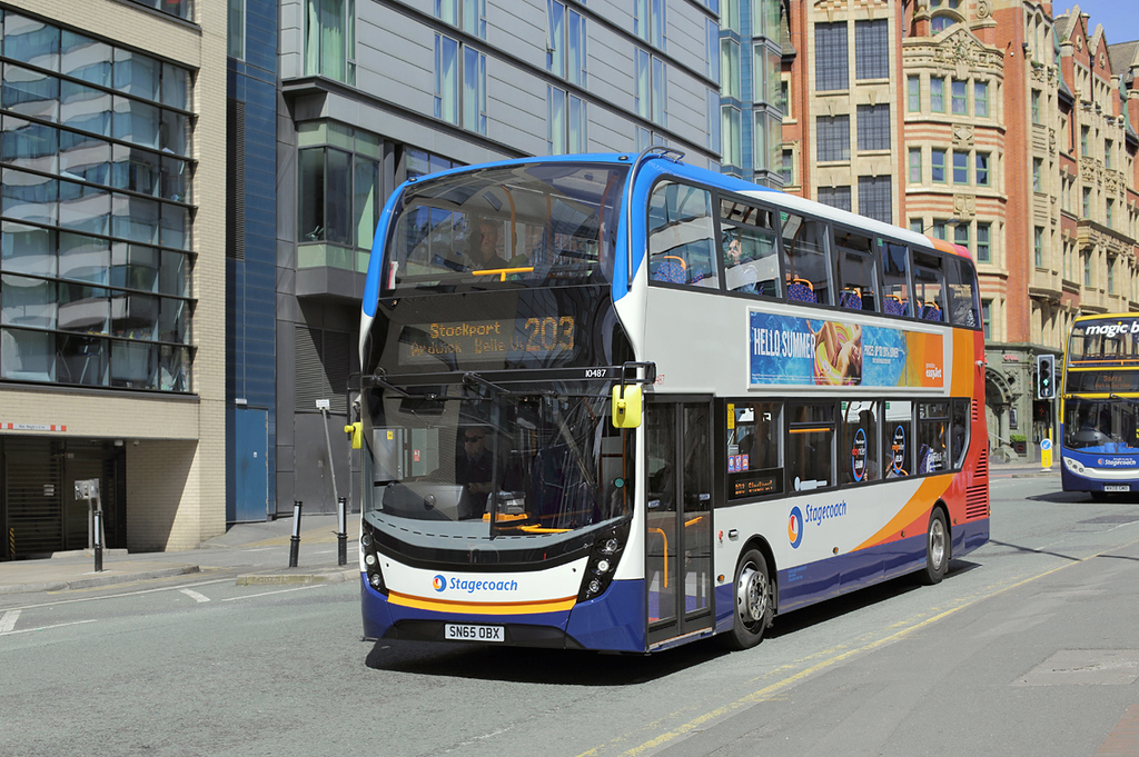 10487 SN65OBX, Manchester 31/5/2016