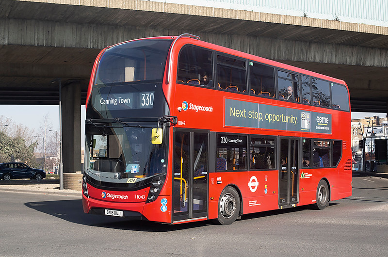 11042 SN18KUJ, Canning Town 27/2/2019