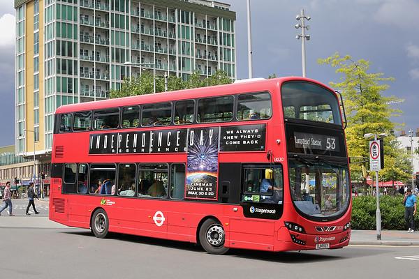 13020 BJ14KSY, Woolwich 25/6/2016
