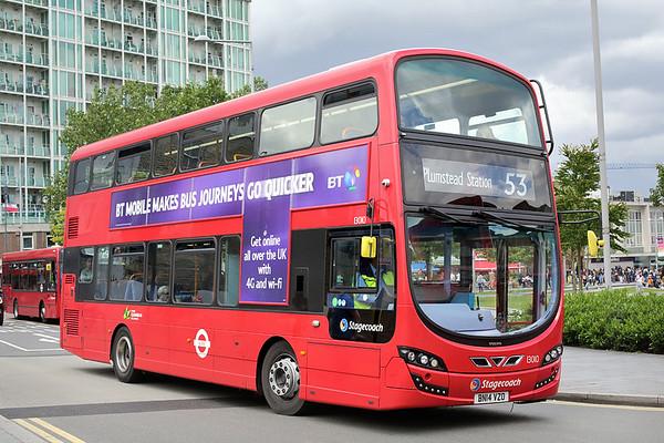 13010 BN14VZO, Woolwich 25/6/2016