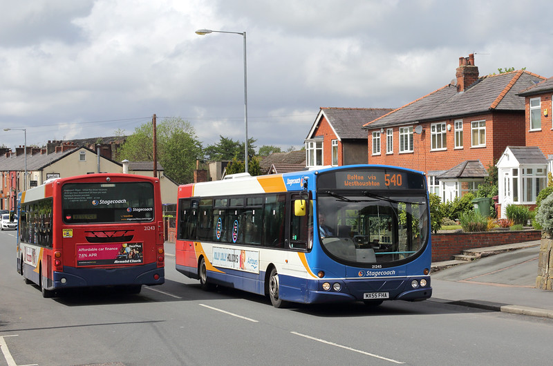 21245 MX55FHA and 21243 MX55FGV, Westhoughton 18/5/2016