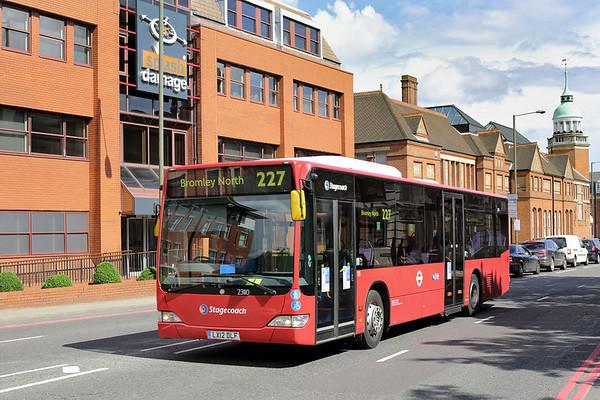 23110 LX12DLF, Bromley 25/6/2016