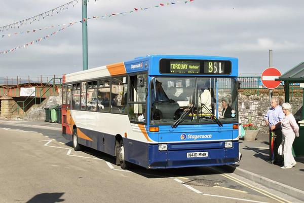 32410 N410MBW, Dawlish 16/7/2004