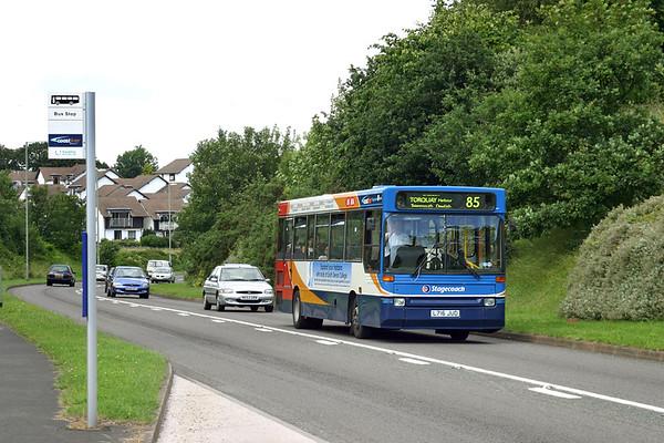 32016 L716JUD, Dawlish 15/7/2004