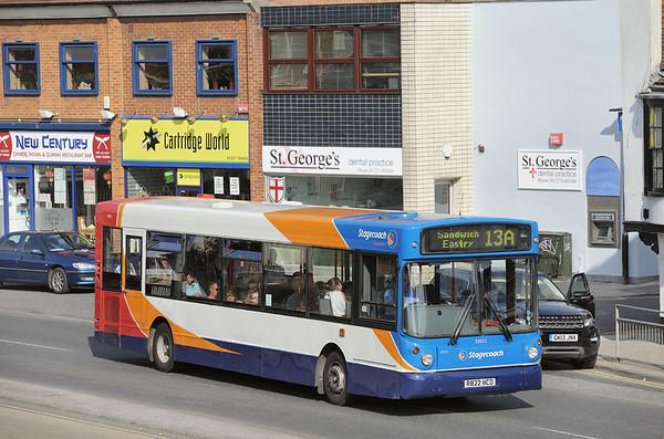 33022 R822HCD, Canterbury 31/7/2014