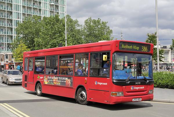 34378 LX03BZK, Woolwich 25/6/2016