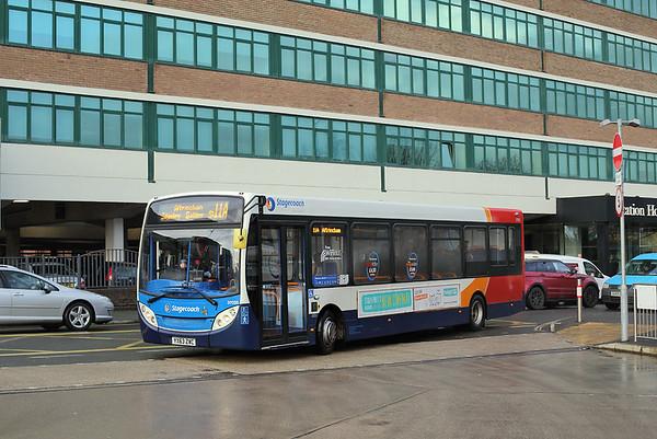37035 YX63ZWC, Altrincham 16/1/2018