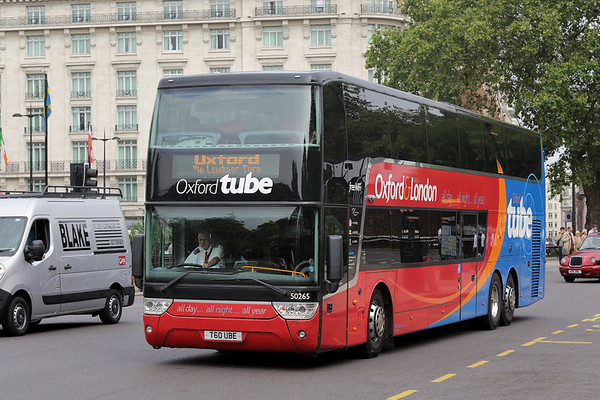 50265 T60UBE, Marble Arch 18/8/2016