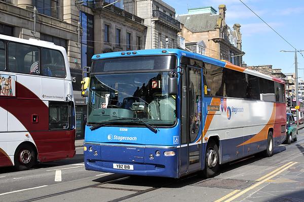 53258 YBZ818, Edinburgh 2/6/2016
