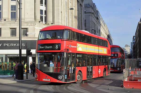 LT240 LTZ1240, Tottenham Court Road 19/1/2017