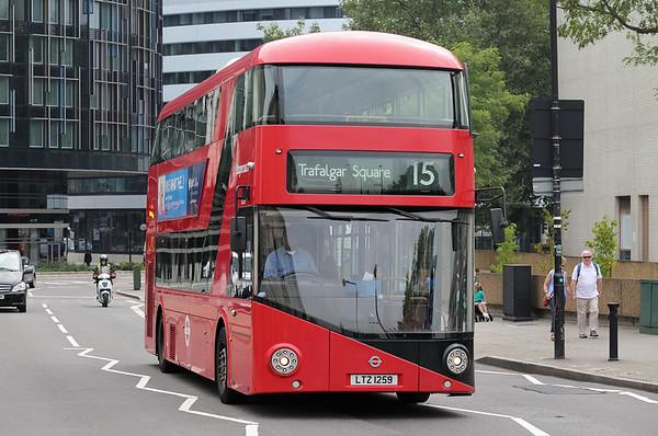 LT259 LTZ1259, Westminster Bridge 18/8/2016