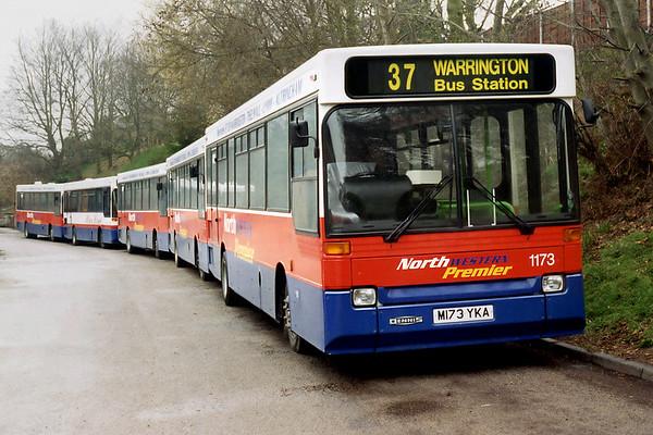 1173 M173YKA, Knutsford 14/4/1996