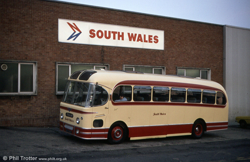 AEC Reliance/Weymann C37F 1032 (NCY 626) at Ravenhill in August 1984.