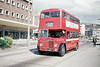 A splendid view of AEC Regent V/Weymann H32/28R 485 (OCY 668) in full sun at Princess Way, Swansea.