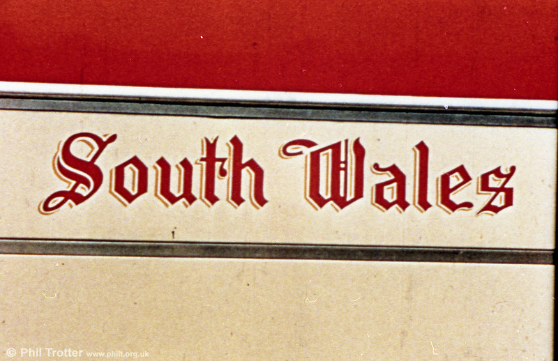 SWT coach fleetname from the 1950s, as used on AEC Regal IVs with Windover Kingsway C35R bodywork, delivered in 1953/4.