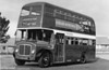 A further livery variation was bright red and white with a blue fleetname, as seen on AEC Regent V 630 (GWN 858D).