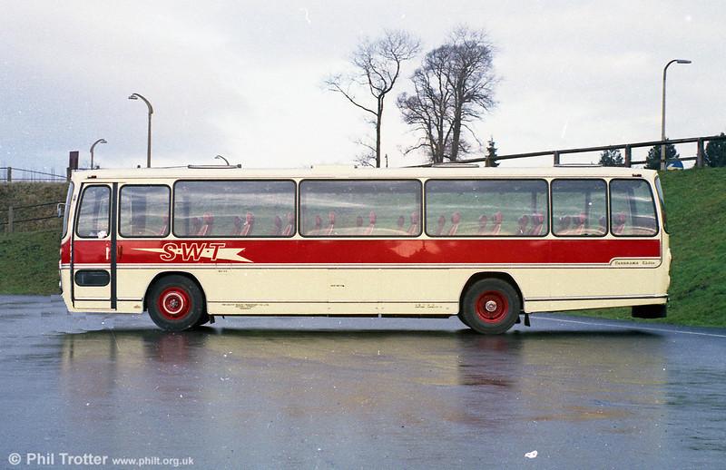AEC Reliance/Plaxton C51F UNY 832G.