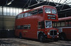 Restored 1962-built AEC Regent V/Willowbrook H39/32F 571 (11 BWN) in store at Gorseinon depot.