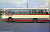 Thomas Bros. UWN 67H, a 1970 AEC Reliance/Duple C41F carrying SWT red livery but Thomas Bros. fleetnames. This became SWT 134.