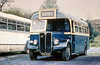 Former AEC Regall III/Willowbrook B34F 128 (FWN 822)  with Llynfi, Maesteg.