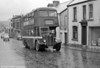 415 (HWN 838) a 1952 AEC Regent III?WEymann H30/26R climbs out of Gorseinon on service 2 to LLanelly.