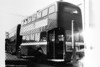 <DIV ALIGN=left>The Four Hundreds were taken out of service between 1966 and 1968. The writer remembers seeing lines of these vehicles awaiting disposal at Ravenhill in 1967-68. In those days, buses were withdrawn as batches based on age, rather than because of the condition of particular vehicles.  Seen after withdrawal at Ravenhill in 1967 is AEC Regent V/Weymann H32/28R 482 (OCY 665).   It is worth noting that when SWT had purchased early examples of AEC Regent Vs in 1955, it would clearly, eventually, become amongst the first to take them out of service. SWT was totally unique at that time in replacing one batch of Regent Vs with a more modern version of the same marque; these were to become known as the 'Six Hundreds'.</DIV>