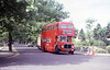 1962-built AEC Regent V/Willowbrook H39/32F 571 (11 BWN) restored to original livery.