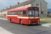 Thomas Bros. VTG 142G, a 1969 Leyland Tiger Cub/Marshall B45F which became SWT 325, seen as delivered in SWT red.