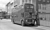 Seen on Kingsway, Swansea is 557 (992 BCY), a 1962 AEC Regent V/Willowbrook H39/32F.
