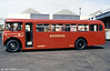 AEC Regent V/Roe B37F 38 (282 DWN) at Ravenhill in 1989.