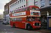 Preserved AEC Regent V/Weymann 590 seen at the now pedestrianised Princess Way, Swansea on 18 October 1992.