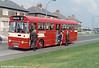 1969 AEC Swift/Willowbrook B48D 702 (PWN 702H) seen when new.